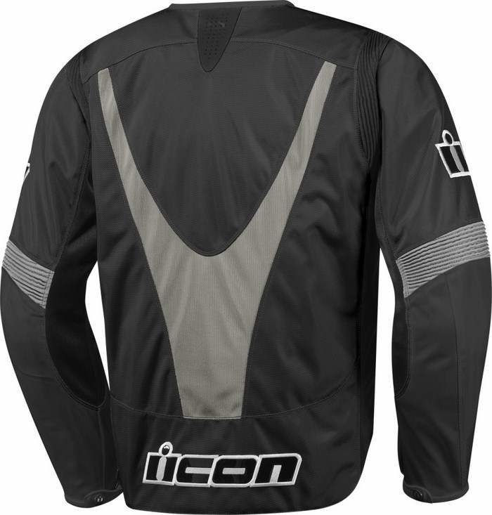 Summer Icon Overlord Textile Motorcycle Jacket Black