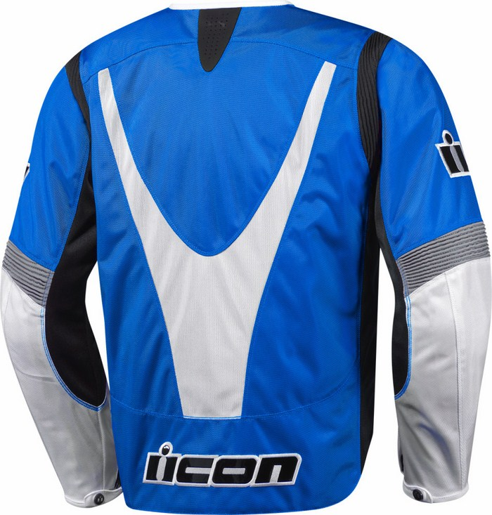 Summer Icon Overlord Textile Motorcycle Jacket Blue