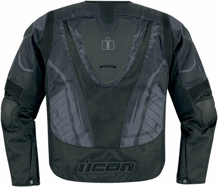 Summer motorcycle jacket Icon Overlord Type 1 Black