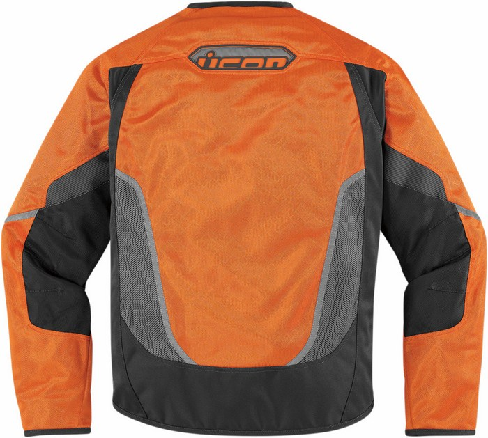 Giacca moto estiva Icon Anthem Mesh Arancio fluo