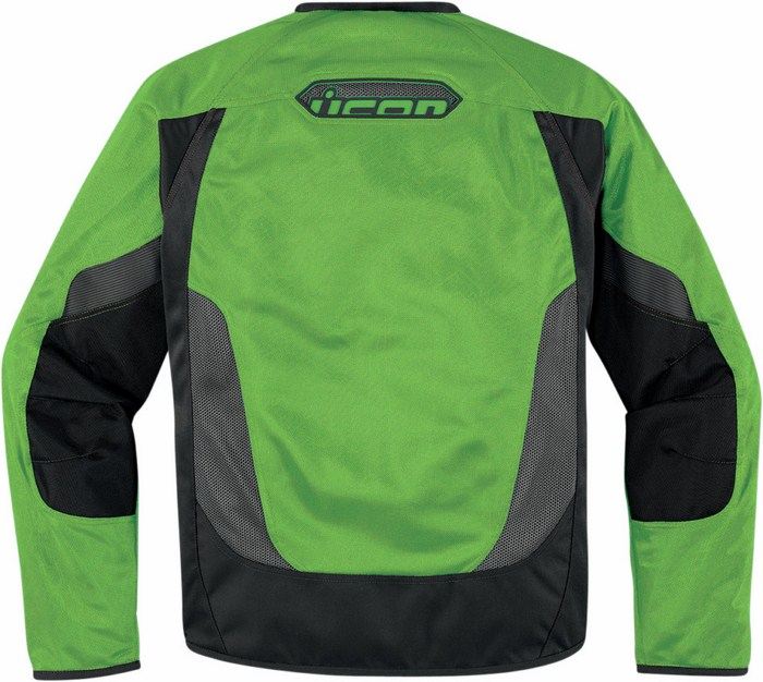 Giacca moto estiva Icon Anthem Mesh Verde