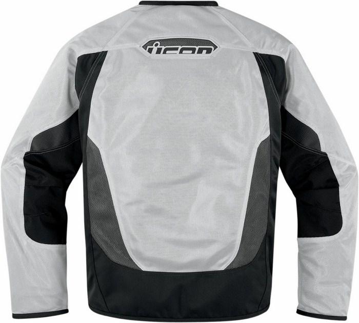 Summer motorcycle jacket Icon Anthem Mesh White