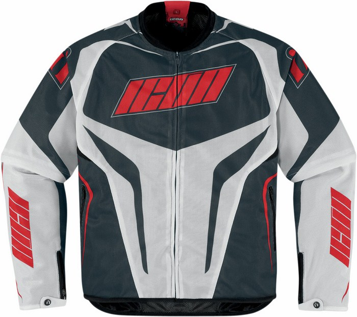 Icon Hooligan summer motorcycle jacket with removable sleeves Re