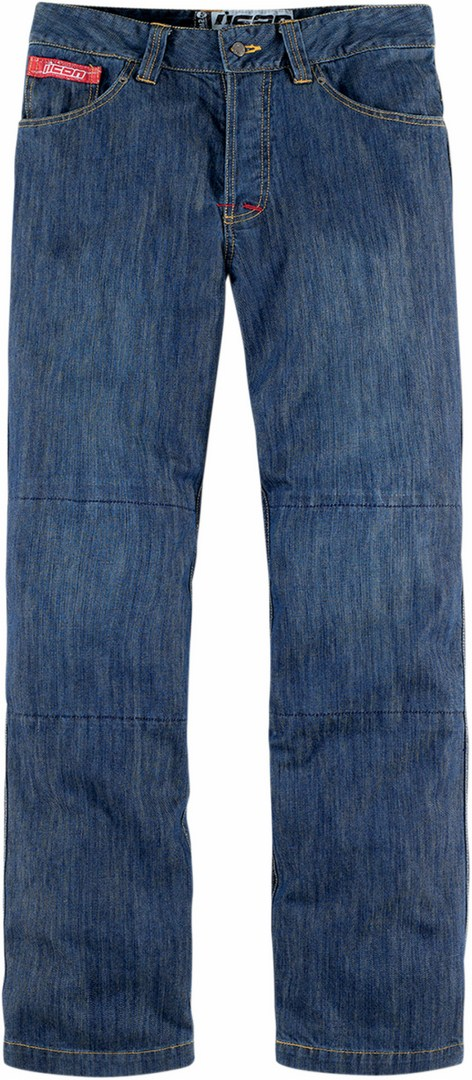 Icon Strongarm 2 Blue Jeans motion