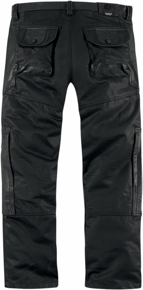 1000 Beltway Icon Motorcycle Pants Black