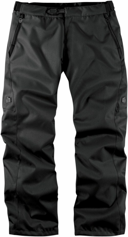 Pantaloni moto Icon Device Nero