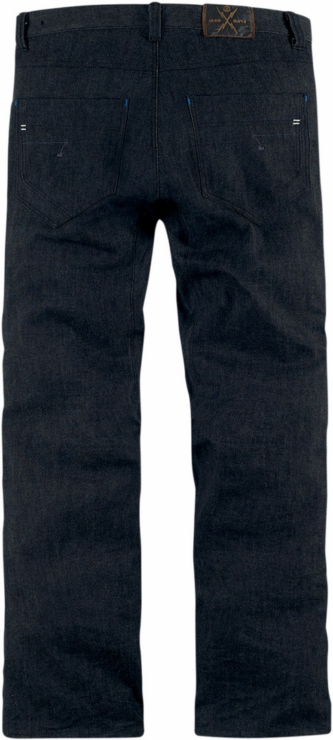 Jeans moto Icon Hooligan Blu scuro