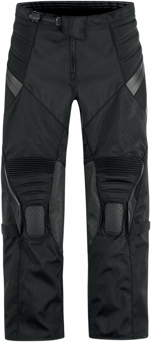 Icon Overlord Motorcycle Pants Black Resistance