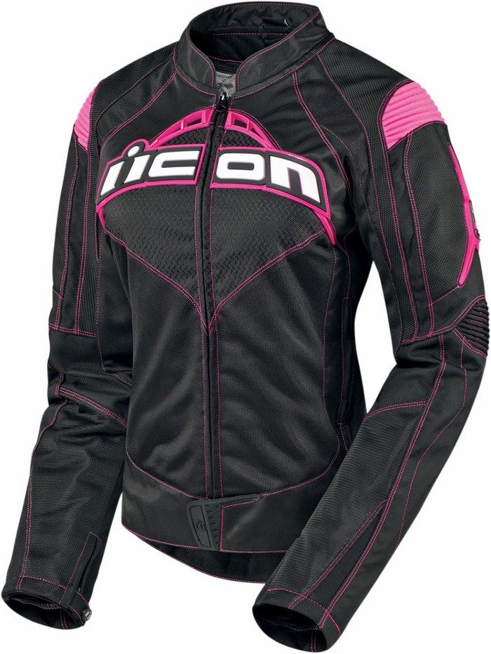 Icon Contra Motorcycle Jacket Black woman summer