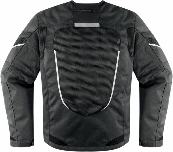 Summer motorcycle jacket Icon Mesh Black Citadel