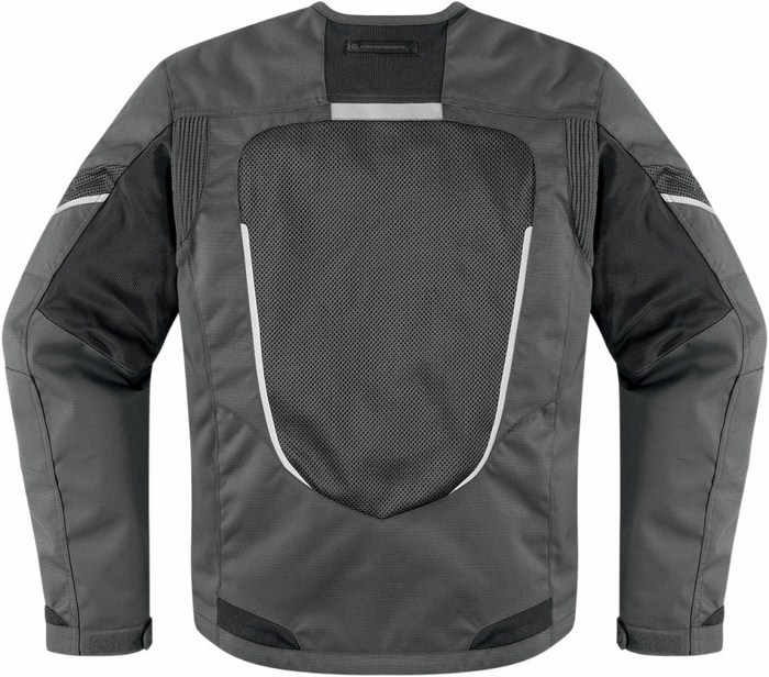 Icon Citadel summer motorcycle jacket Mesh Black Grey