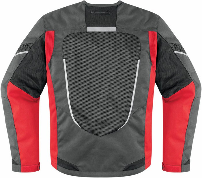 Icon motorcycle jacket summer Citadel Red Mesh