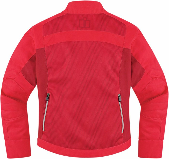 Icon Hella motorcycle jacket woman 2 Red