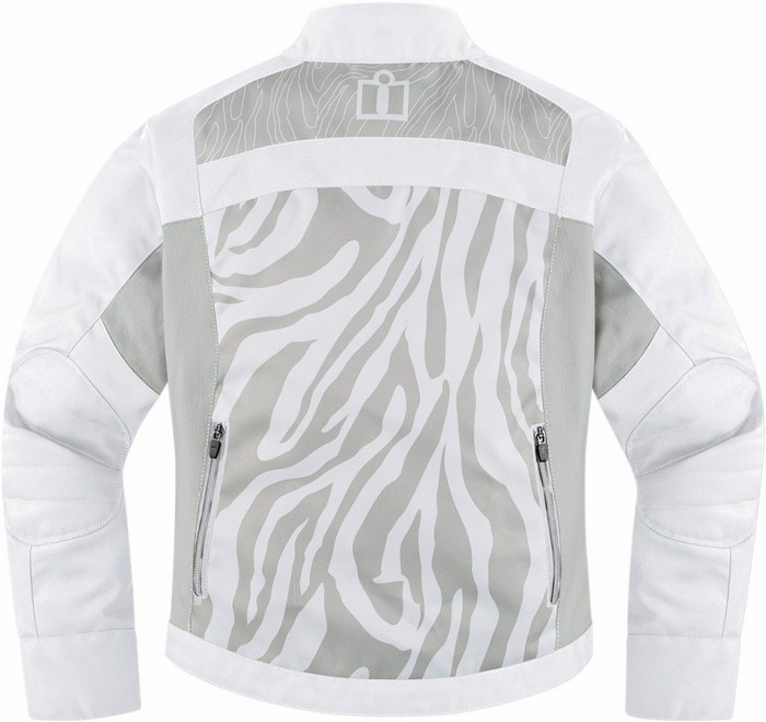 Icon Hella 2 Women motorcycle jacket White