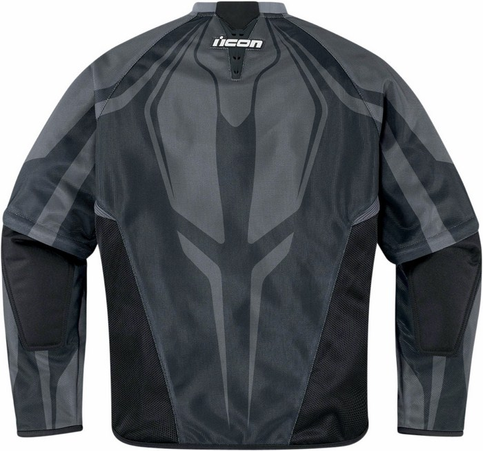 Woman summer motorcycle jacket with detachable sleeves Icon Hool