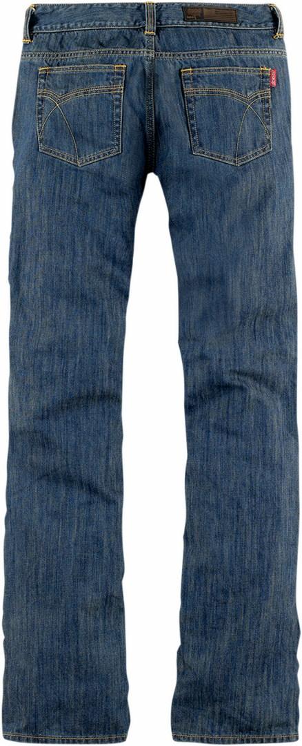 Icon Hella Blue Jeans bike woman