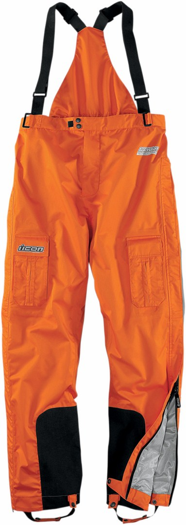 Waterproof pants Icon PDX Waterproof Fluorescent Orange