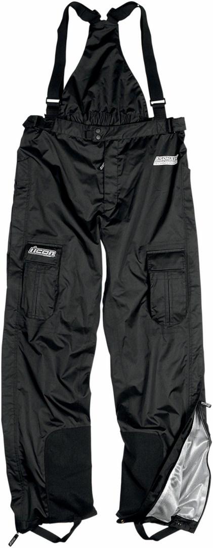 Pantaloni impermeabili Icon PDX Waterproof Nero