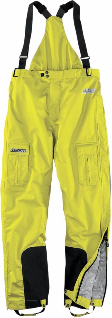 Pantaloni impermeabili Icon PDX Waterproof Giallo fluo