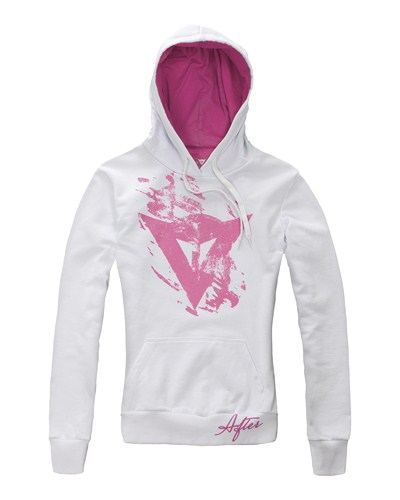 Dainese Scratch Lady Pull white-pink