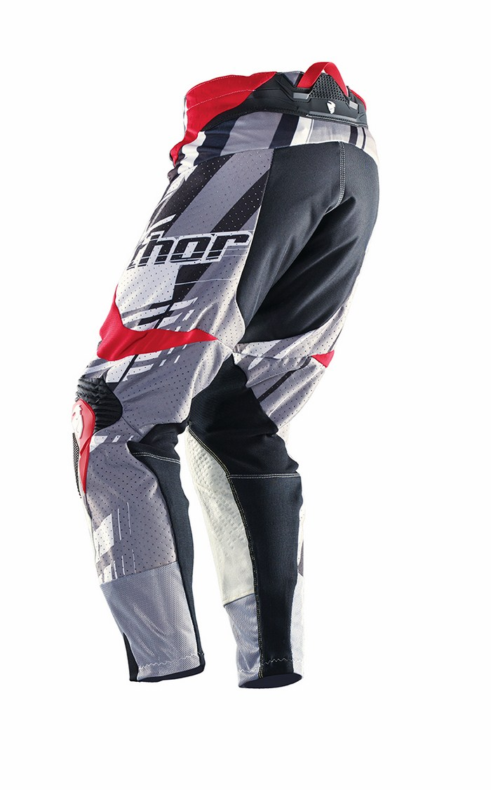 Thor Flux Pants cross Shred gray red
