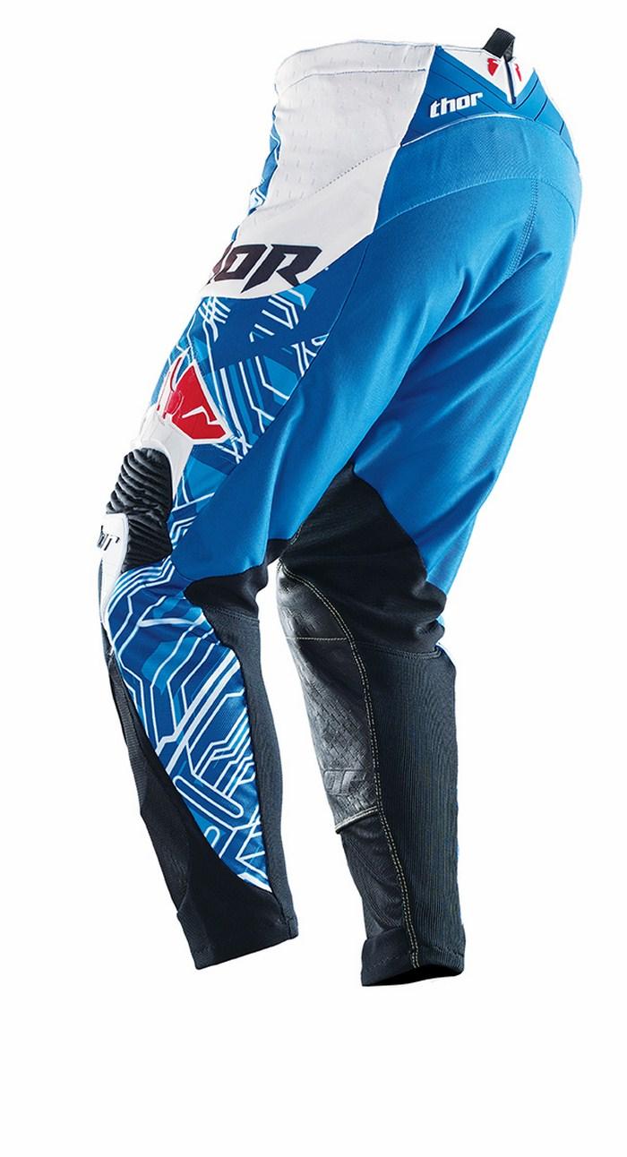 Pantaloni cross Thor Core Fusion blu