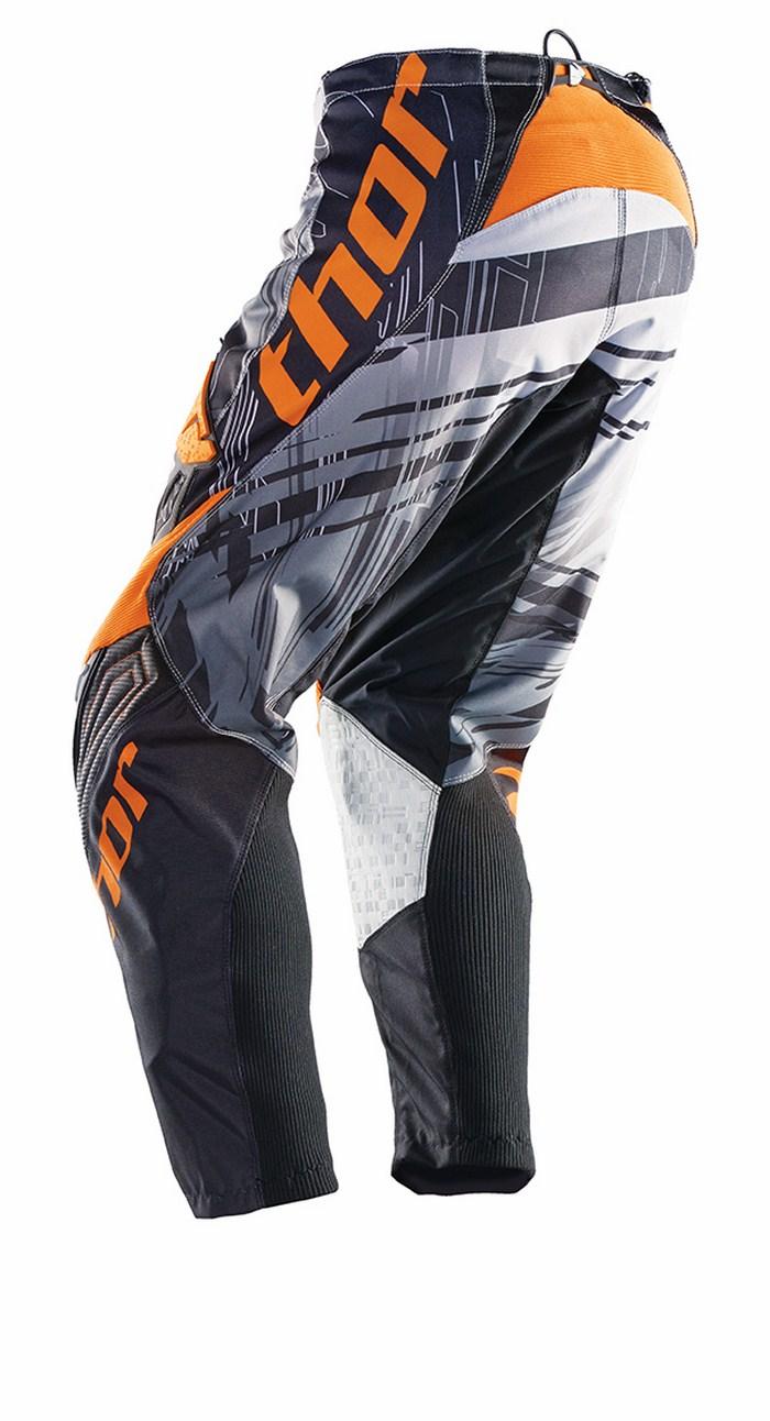 Thor Phase Pants cross Swipe white black orange