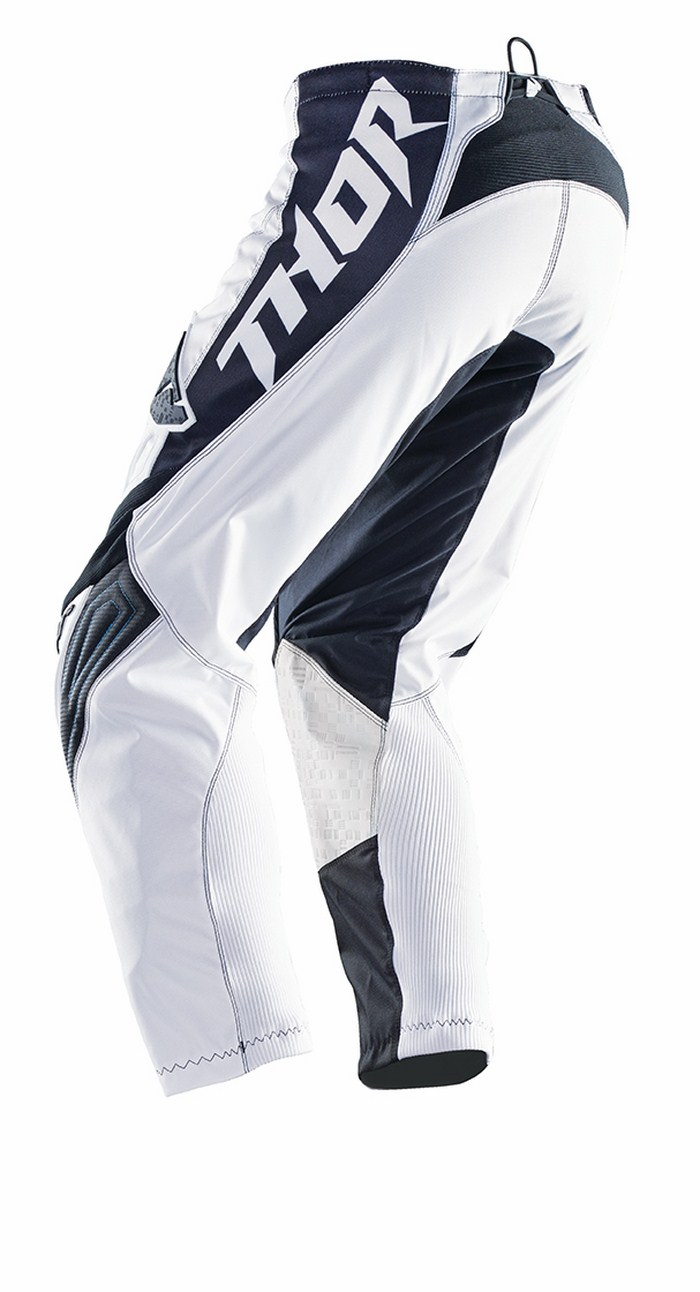 Thor Phase Stripe pants white blue
