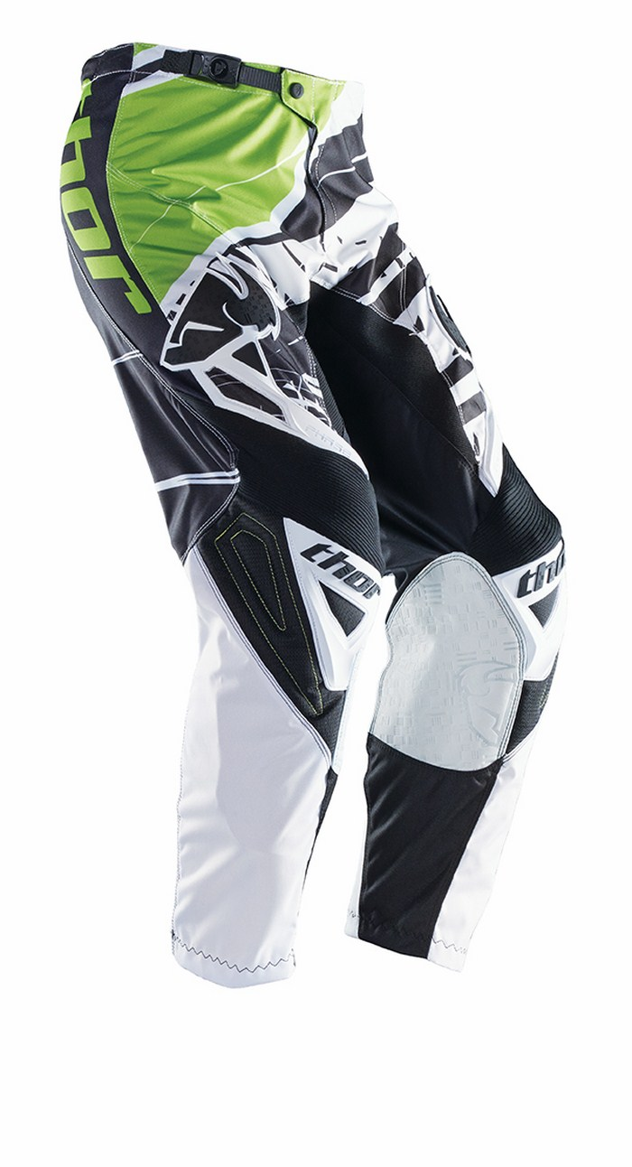 Thor Phase Pants cross Mask white black green