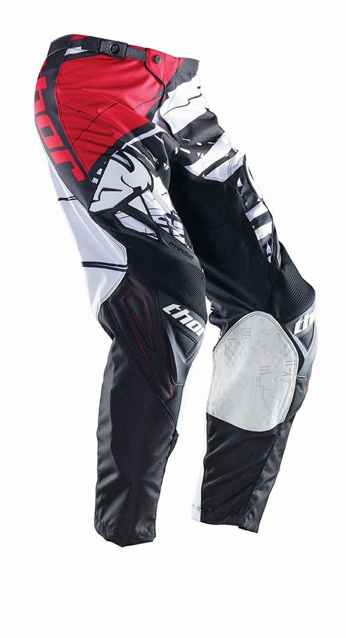 Thor Phase Pants cross Mask white black red