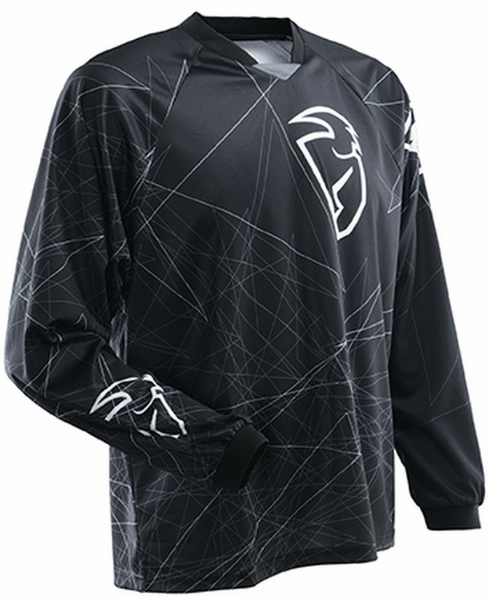 Thor Static Gear jersey black