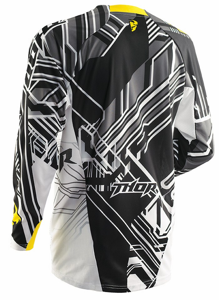 Thor Core Fusion yellow jersey