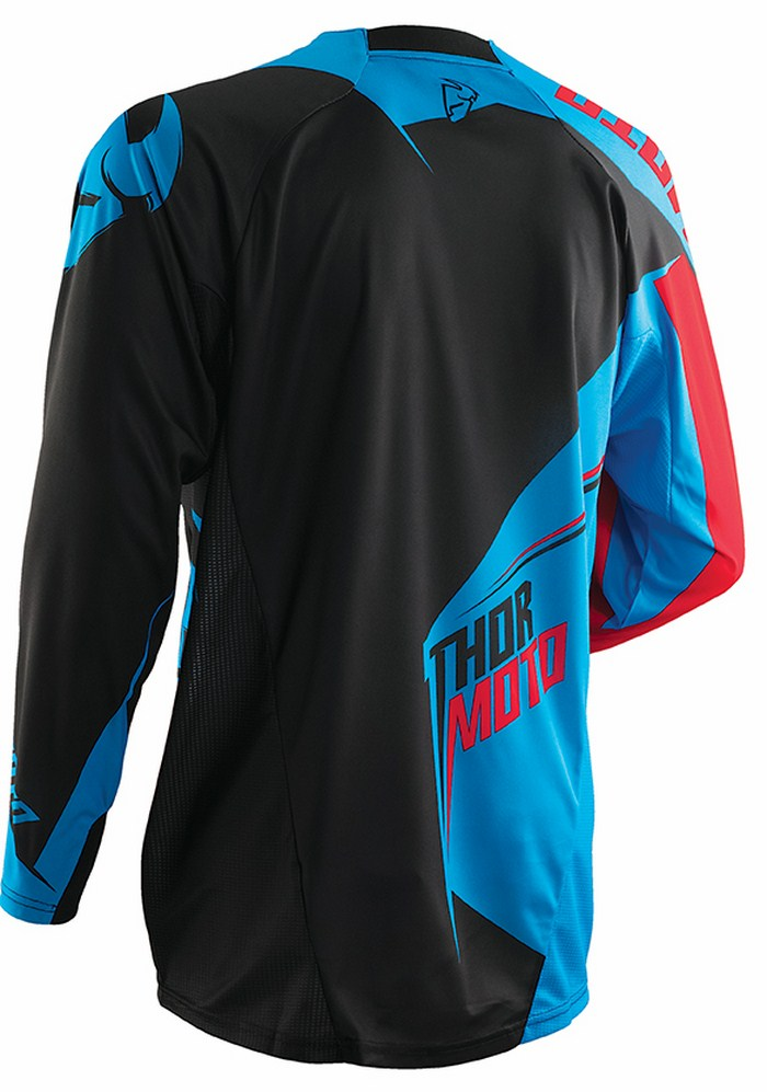 Thor Core Razor jersey blue res black