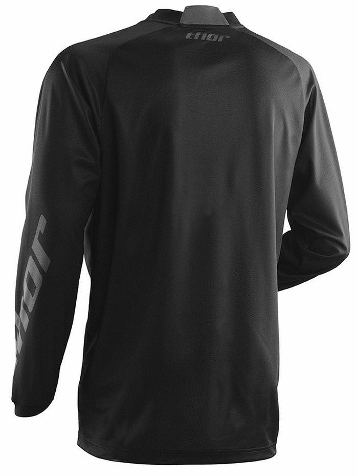 Maglia off-road Thor Phase Cold Weather nera