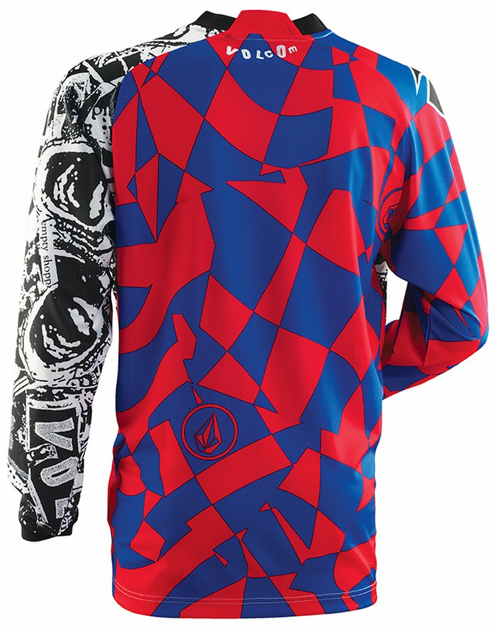 Thor Volcom Collab Phase Paradox jersey