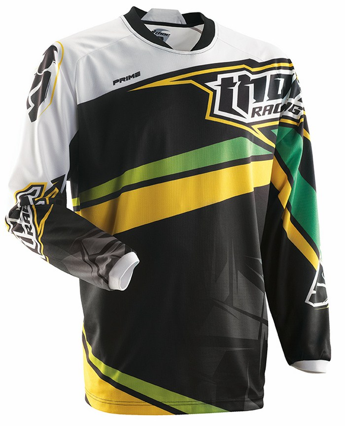 Thor Prime Slice jersey green black yellow