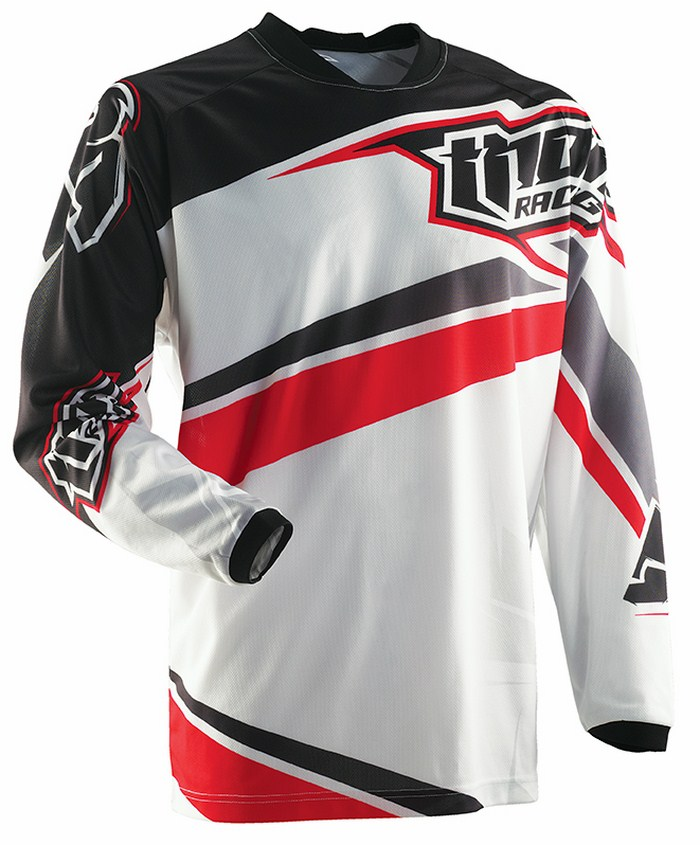 Thor Prime Slice jersey red black white