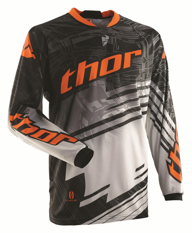 Thor Youth Phase Swipe Jersey orange