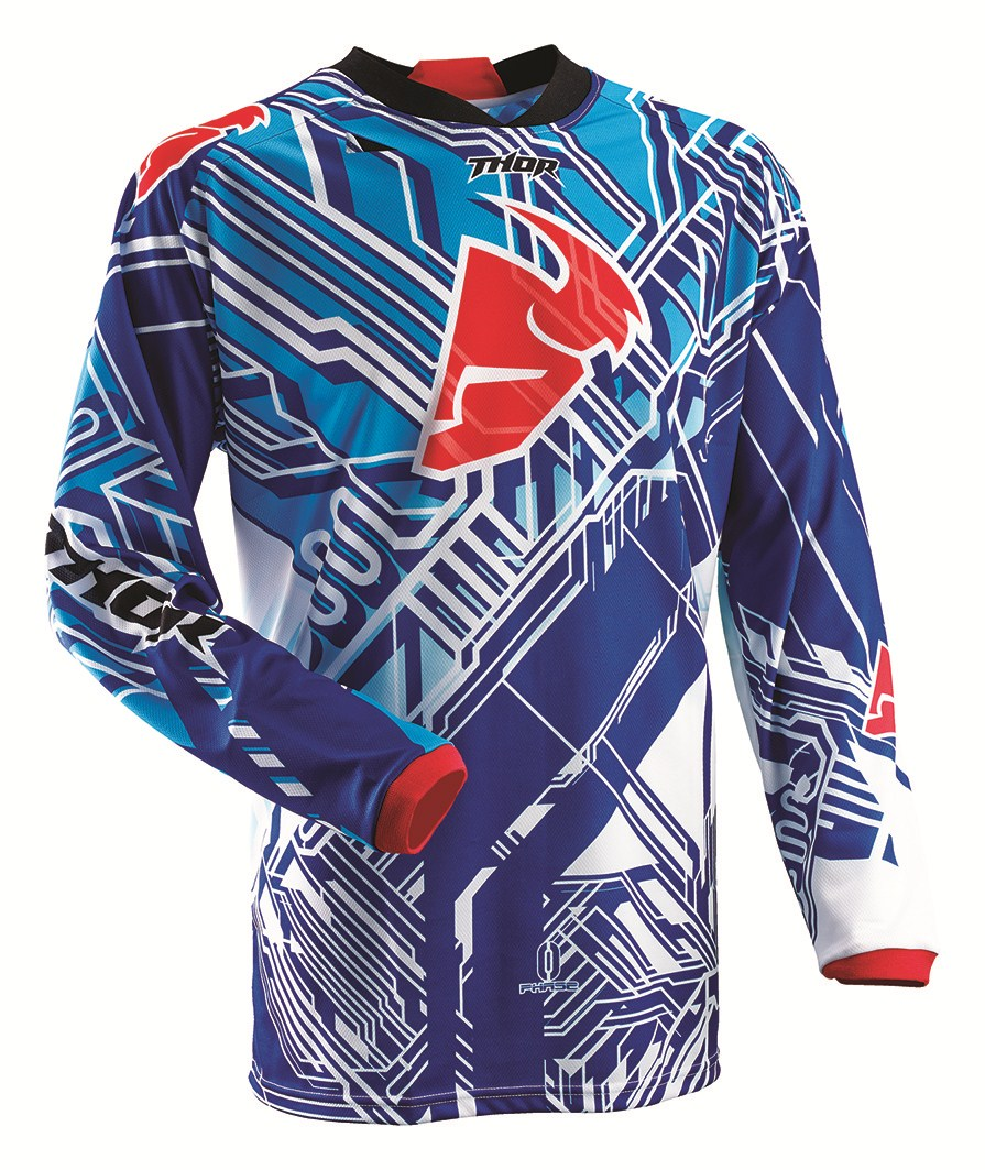 Thor Youth Phase Fusion Jersey blue