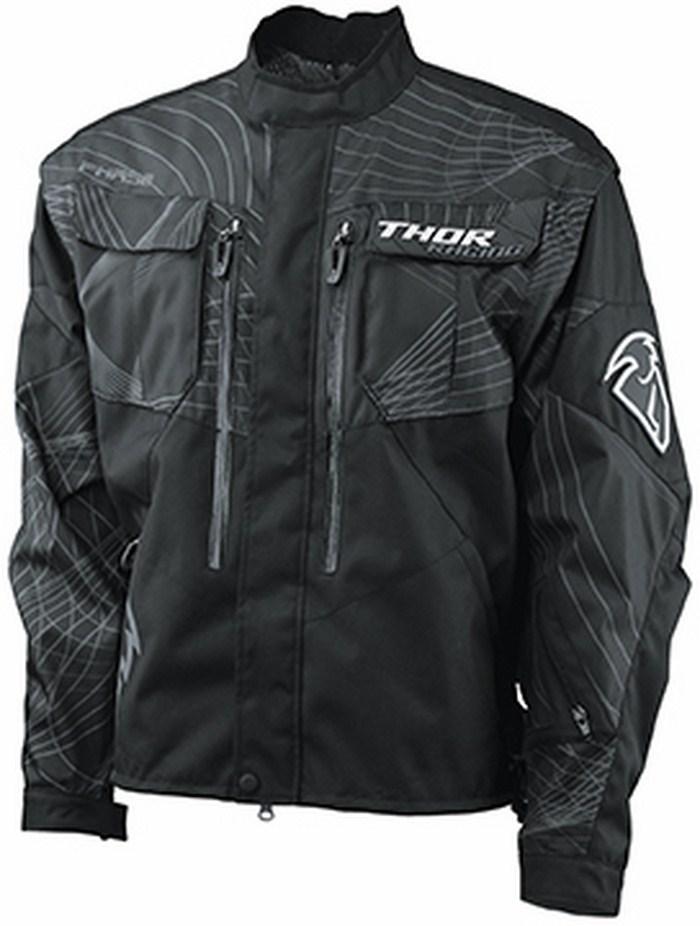 Thor Phase off-road jacket black