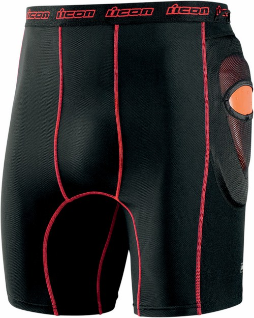 Protective Shorts Icon Stryker Black