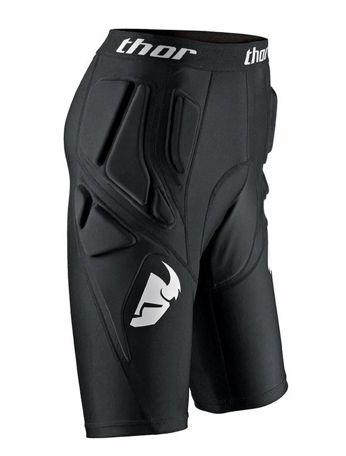 Pantaloncini protettivi Thor Comp SE neri