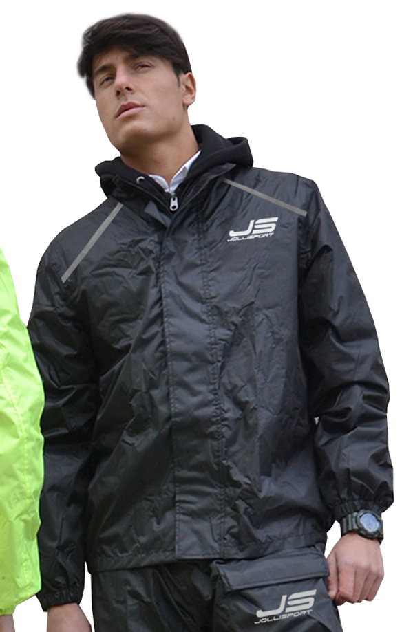 Rain jacket Jollisport Black Table