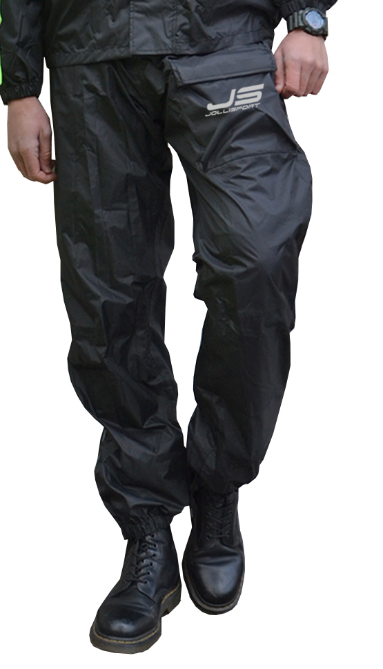 Pantaloni antipioggia Jollisport Pong Nero