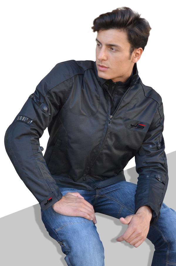 Motorcycle jacket Black Snake Jollisport
