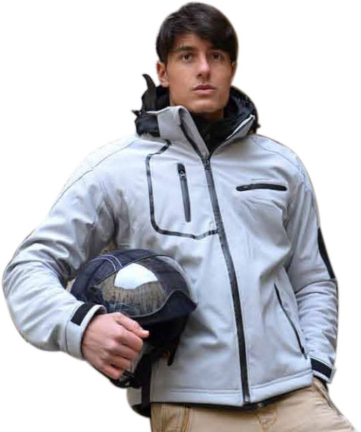 Soft Jacket Jollisport Ages gray