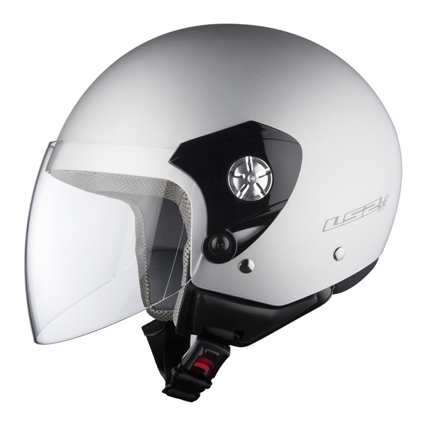 Helmet LS2 OF518 Midway matt silver