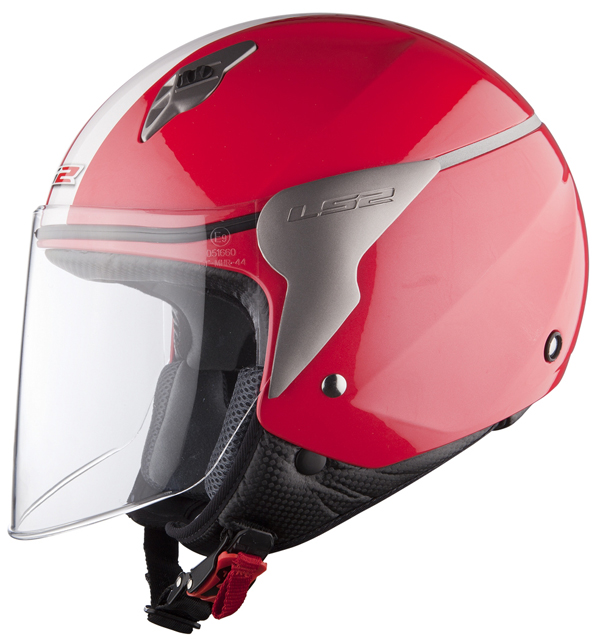 Helmet LS2 OF559 Blink red