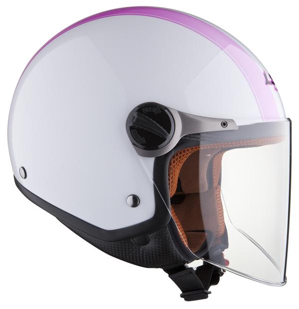Helmet LS2 OF560 Elite white pink