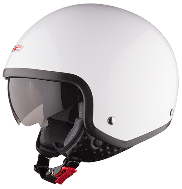 Jet helmet LS2 OF561 Wave White